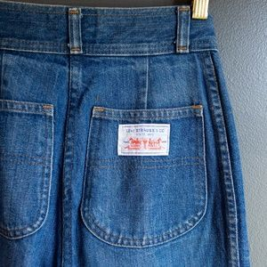 Vintage 1970's Levi's Denim Pants